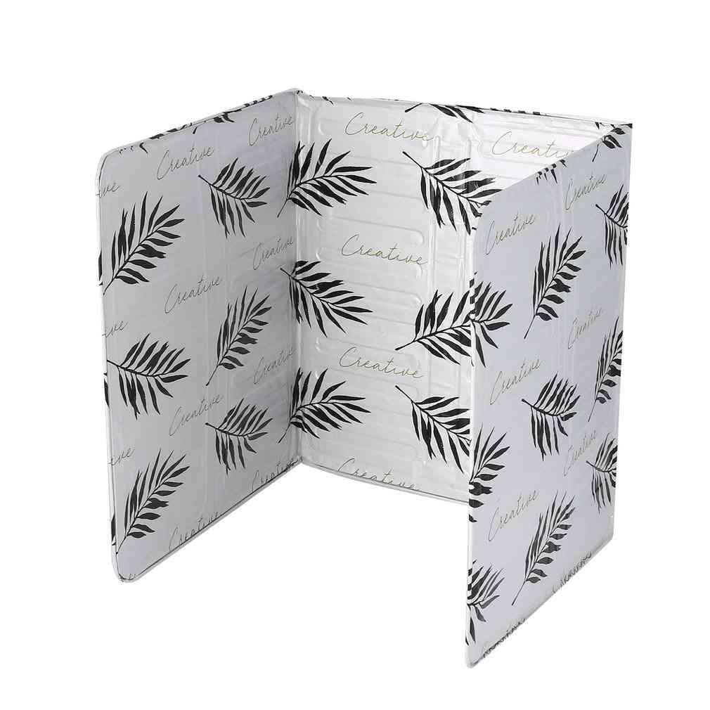 Oil Aluminium Foil Plate, Gas Stove Oil Splatter Screens Kitchen Tool