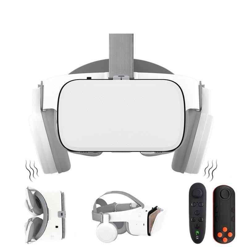 Vr-headset Google-cardboard Bluetooth Virtual-reality Glasses