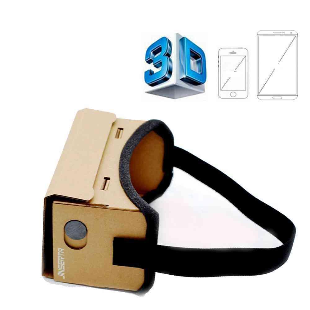 3d Glasses Magnet Vr Box