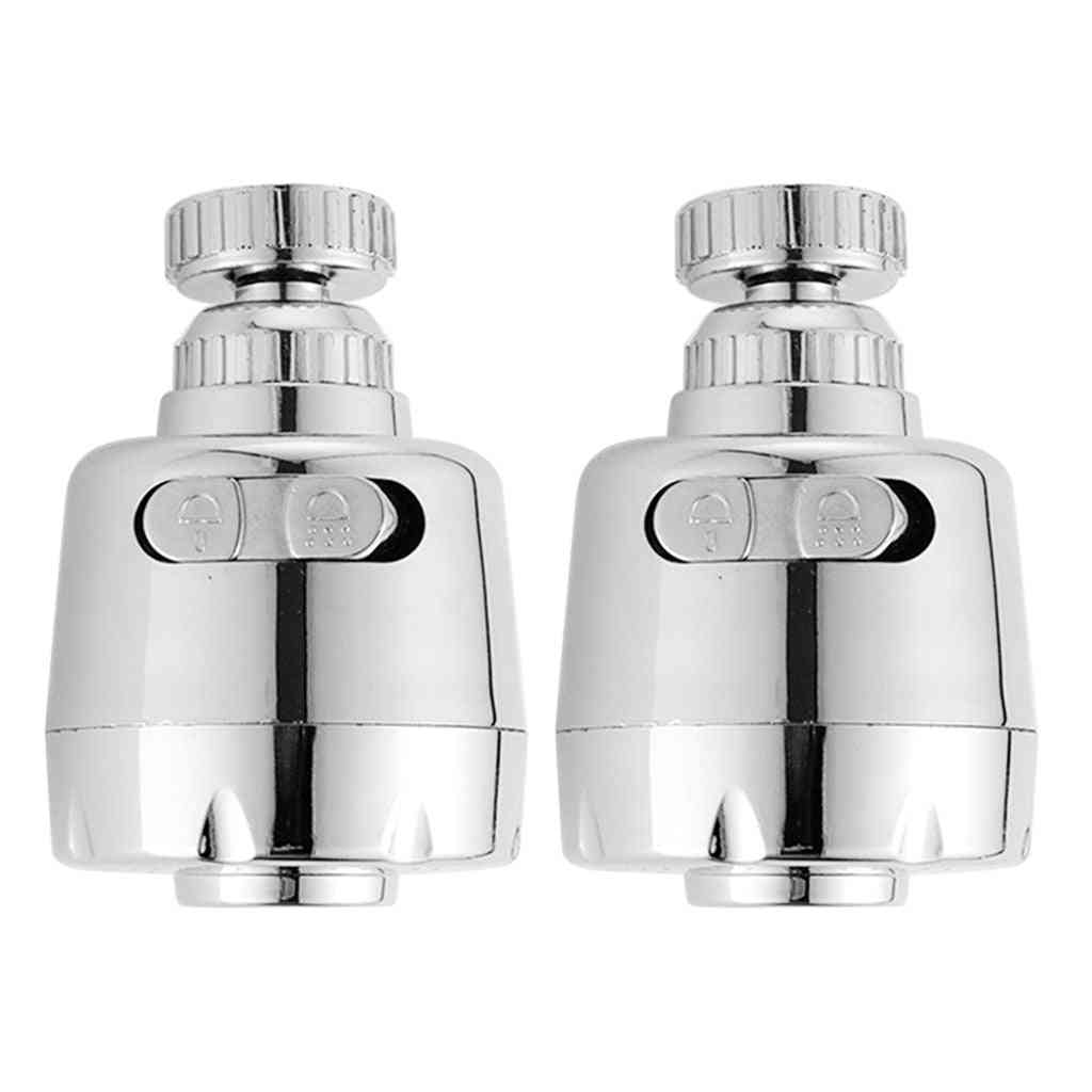Metal Nozzle Water Outlet- Saving Filter Sink Faucet Extender