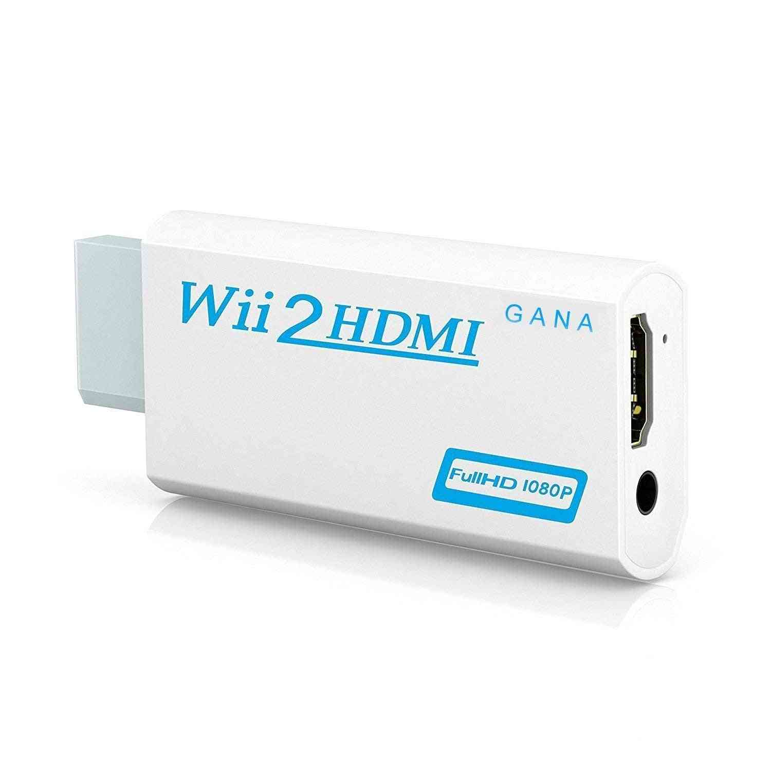 Full Hd 1080p, Wii To Hdmi Converter Adapter