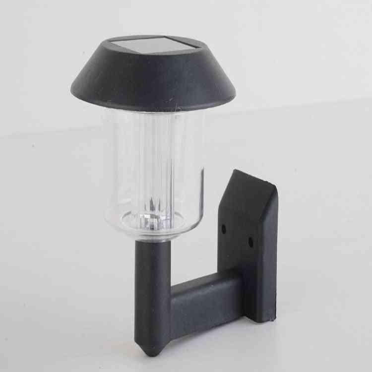 Solar Led Wall Lamps, Safety Lighting For Outdoor, Garden, Courtyard