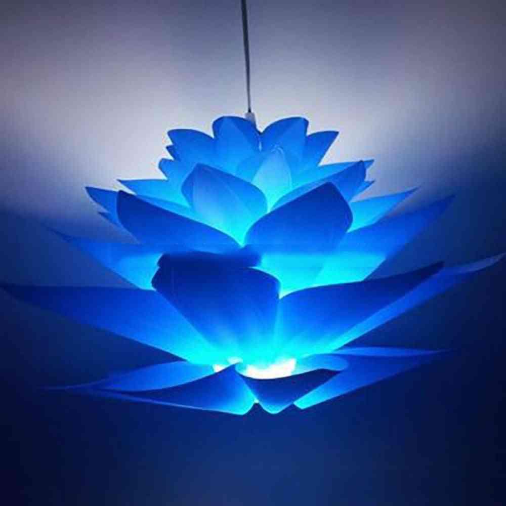 Diy Lotus Flower Shape, Chandelier Lampshade