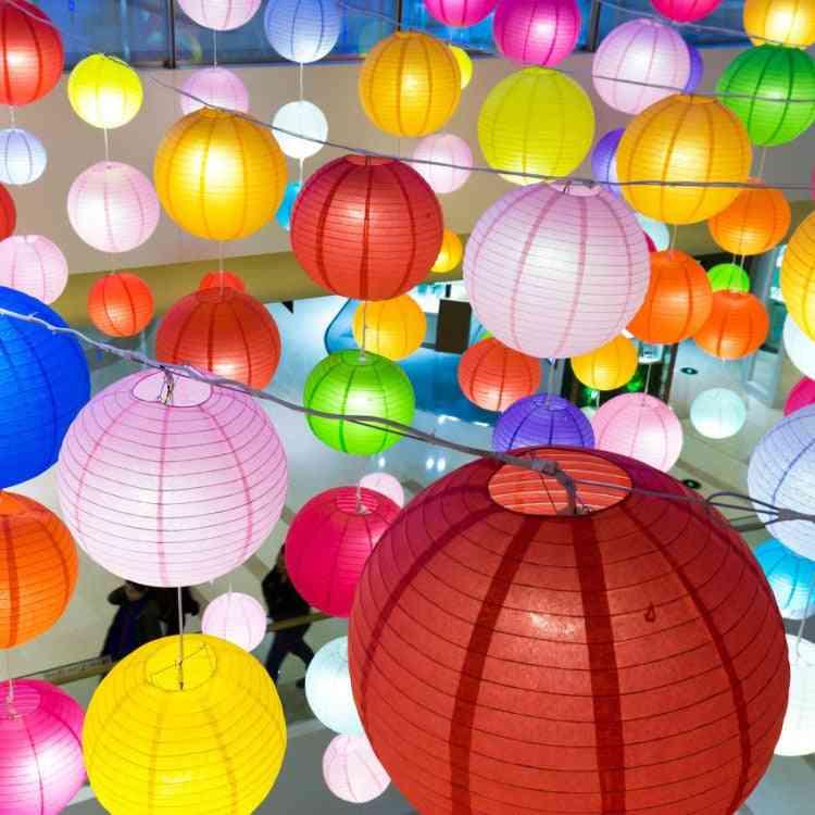 Lantern Hanging Diy- Handmade Folding Paper Shade,  Lampshade