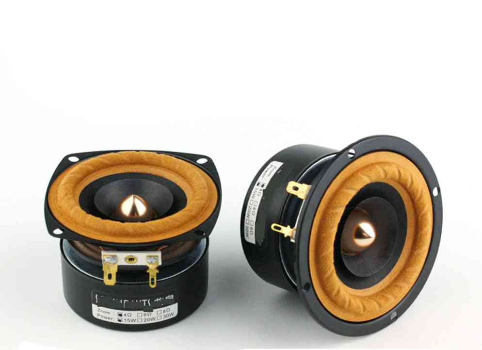 3-inch Full Range, Square/round Shape-hi-fi Speaker Tweeter