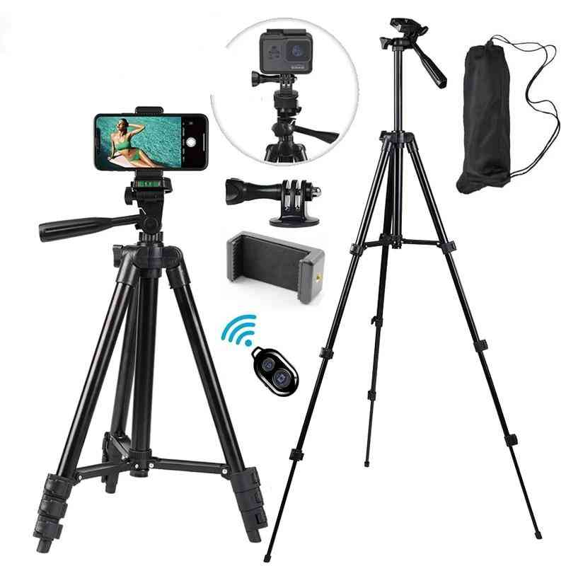 Mobile Phone Tripod Stand 40inch Universal Photography For Gopro/iphone/samsung/xiaomi/huawei