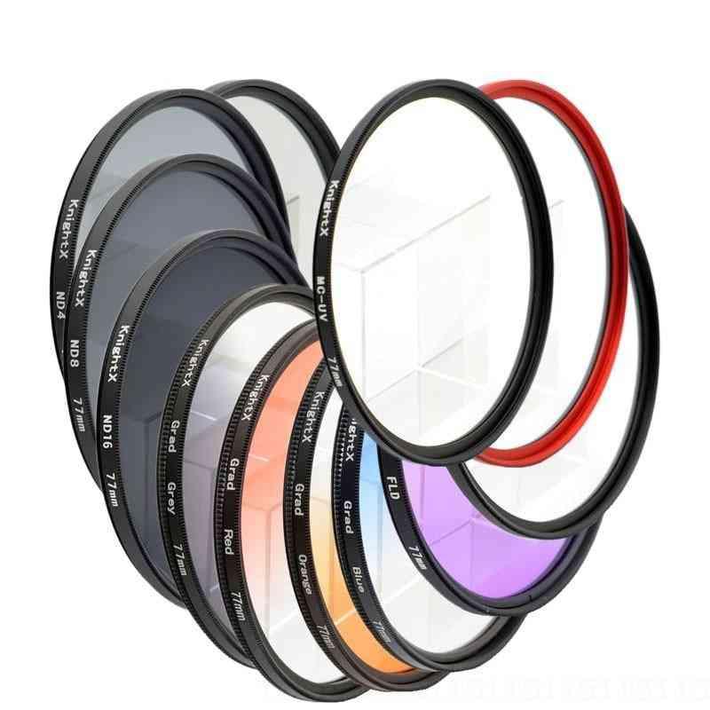 Lens Color Filter For Nikon Canon