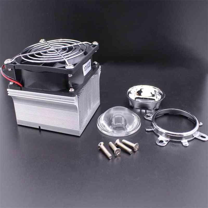100w Led Aluminium Heat Sink Cooling Fan