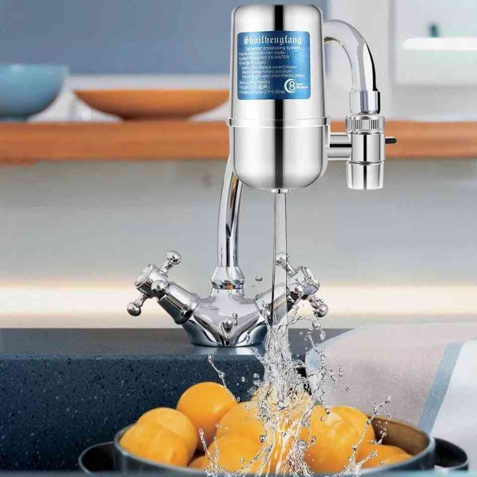 Portable Household Faucet Water Purifier