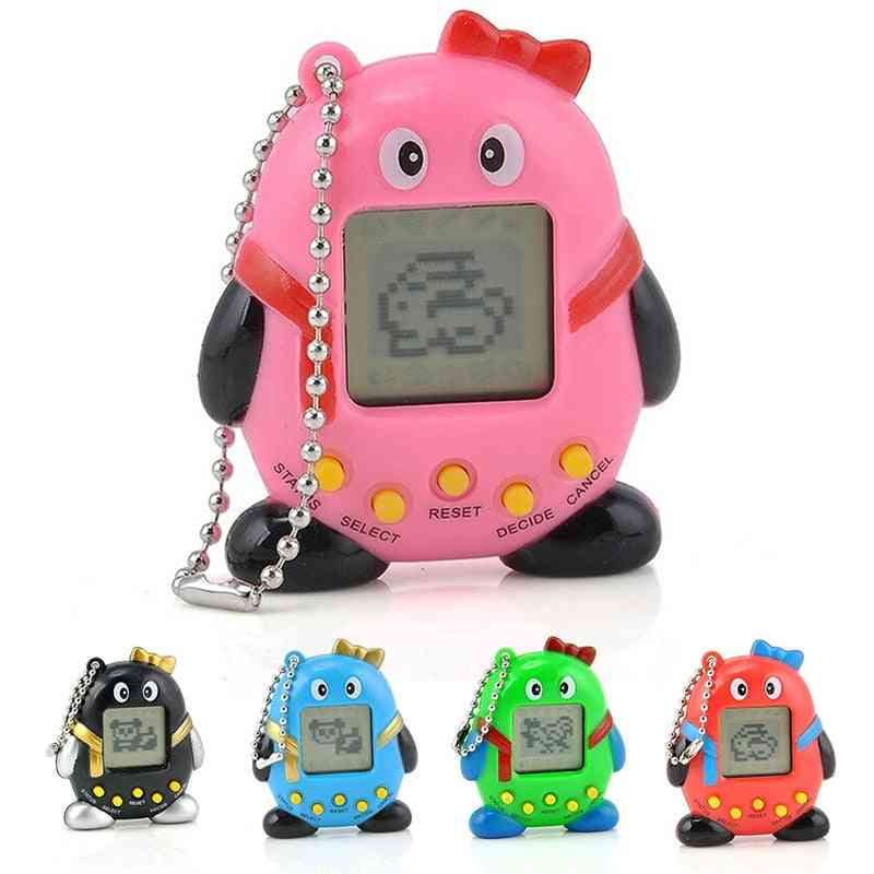 Nostalgic Virtual Cyber Digital Tamagotchi Penguins E-pet Toy