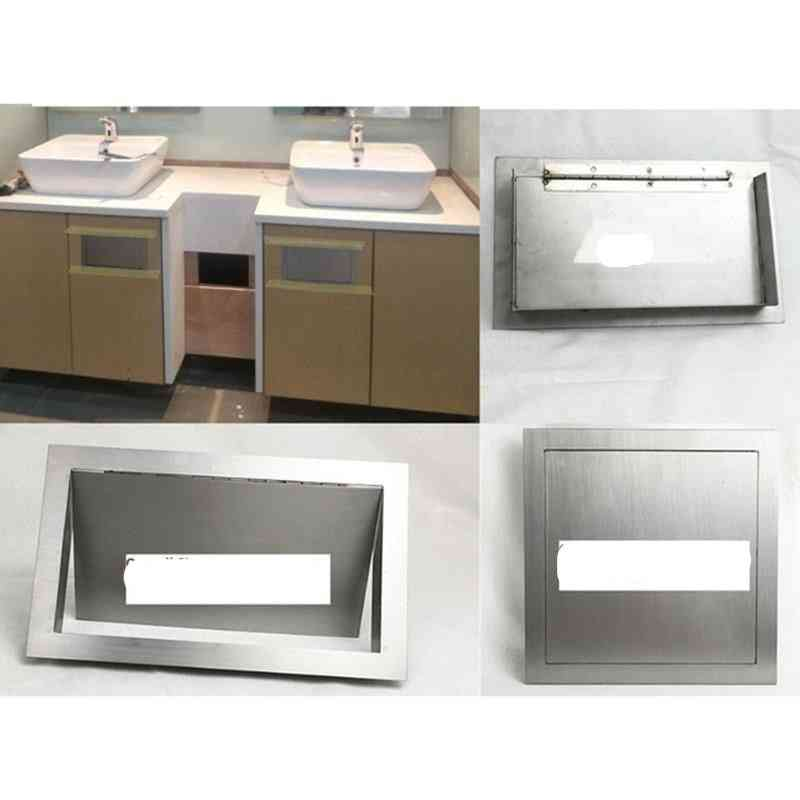Stainless Steel Wall Side Mount Flush Recessed