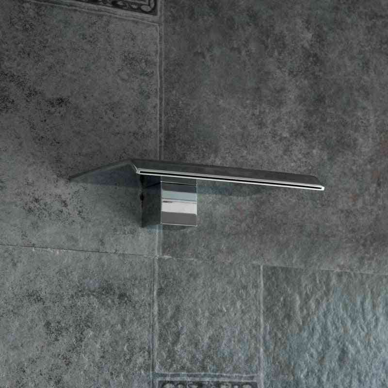 Wall Mounted Stainless Steel Spouts Shower And Basin Faucet Without Handle