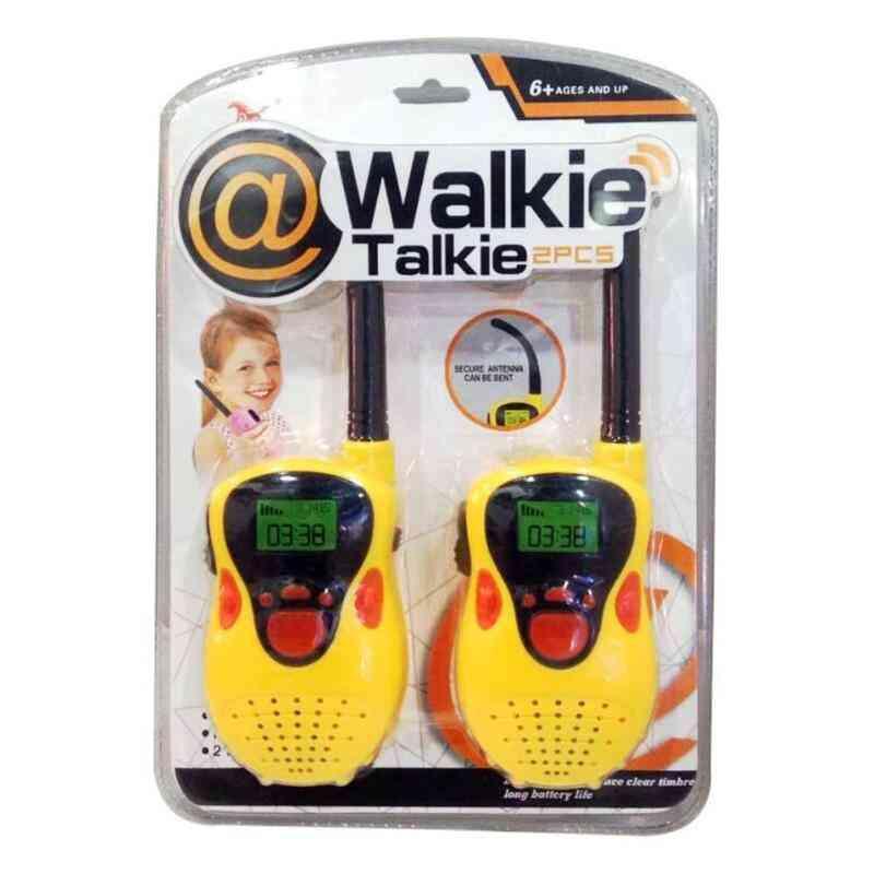 Children Walkie Talkies - Security Surface Abrasive Texture Handheld Radio