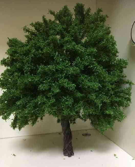 Handcrafted Artificial Trees For Train Model