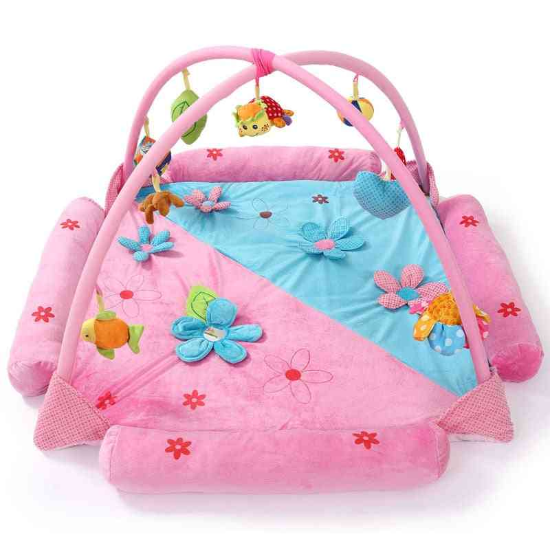 Baby Activity Gyms Play Mat, Educational Rack Infant Fitness Carpet
