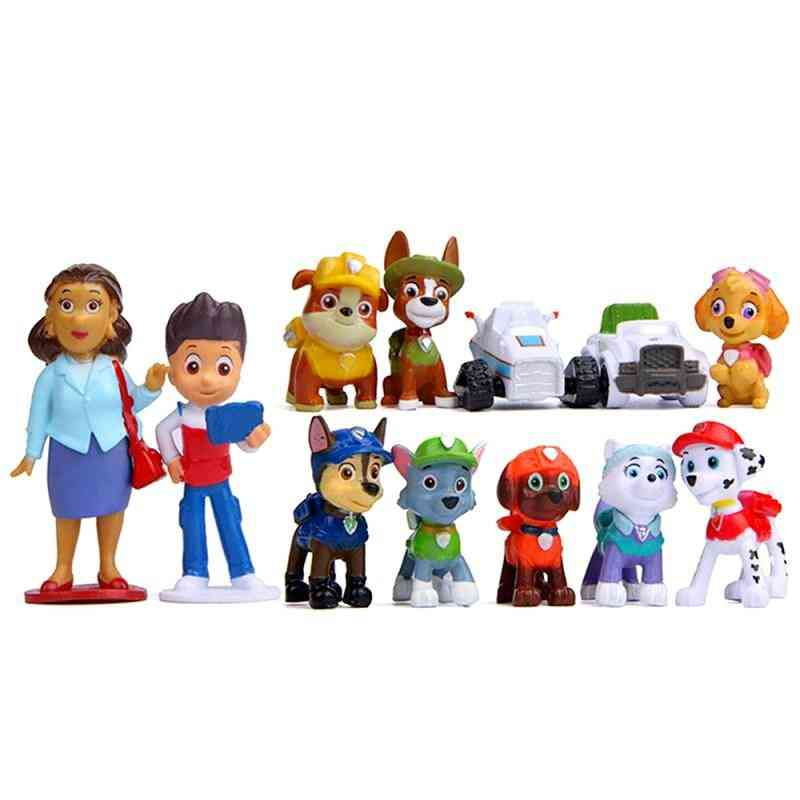 Paw Patrol Rescue Dog Toy - Anime Action Figure Model