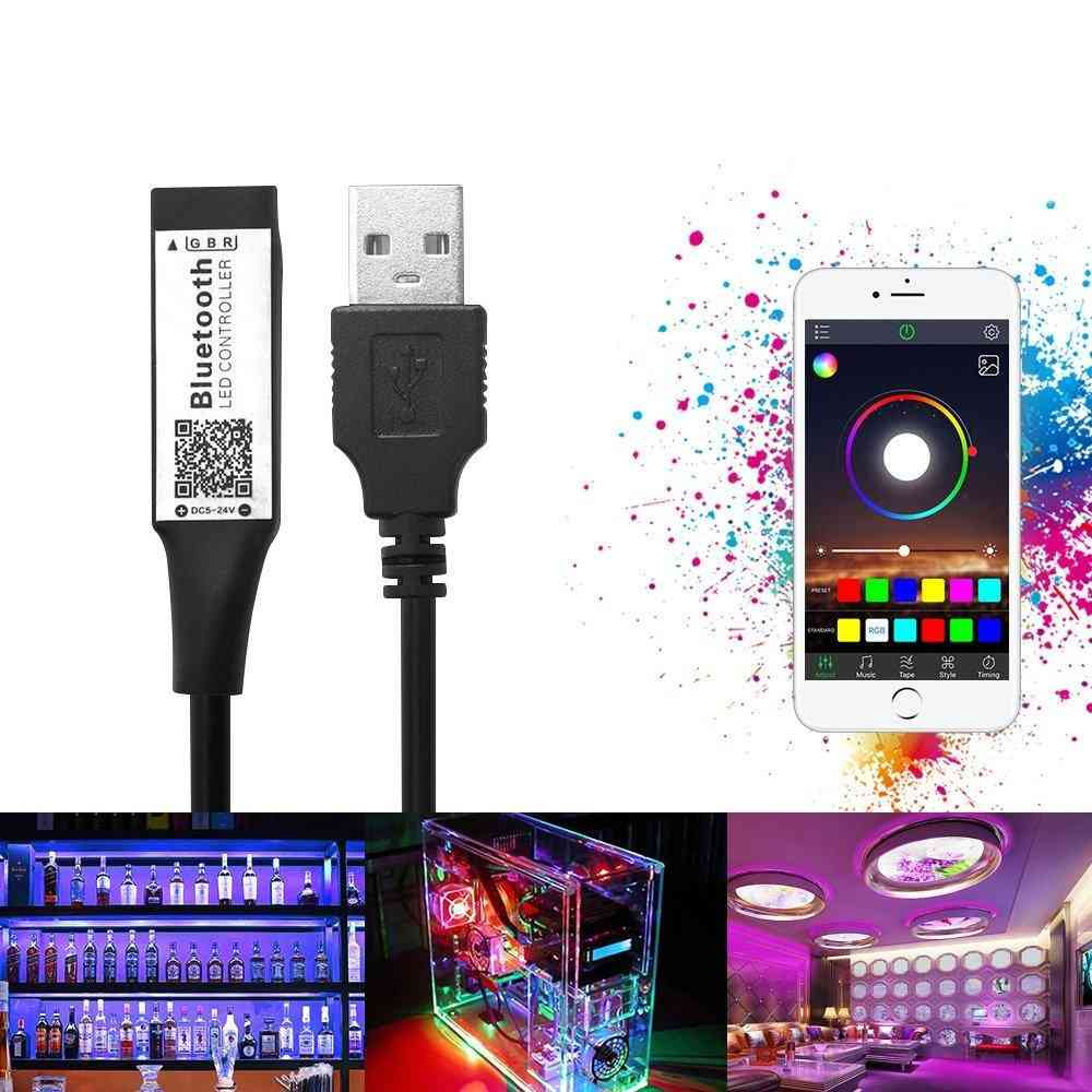 Smart Rgb Bluetooth Timer, Suitable Led Controller Usb