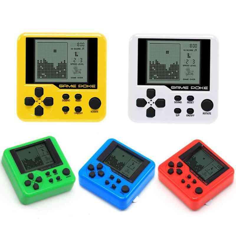 Portable Mini Classic Games - Tetris For Child Pocket Consoles