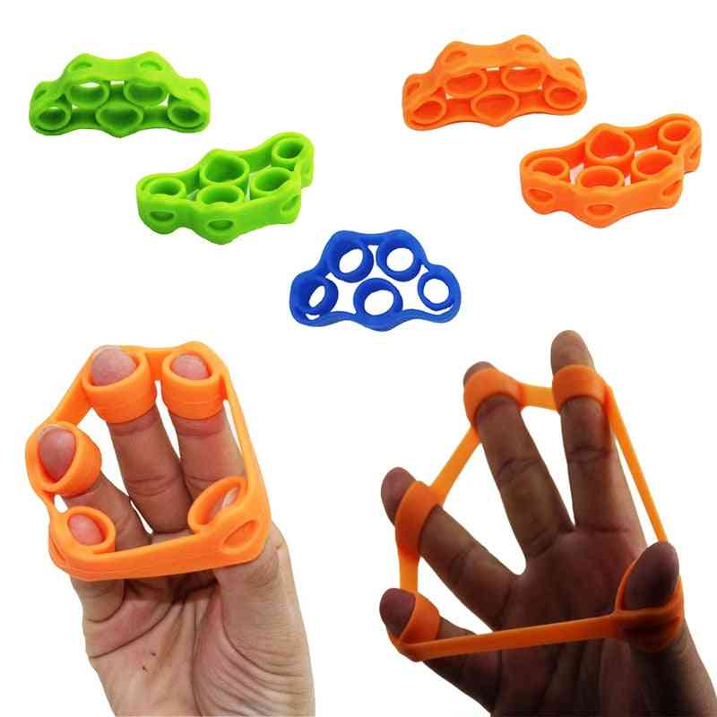Silicone Hand Finger Trainer Ring, Anti Stress Toy