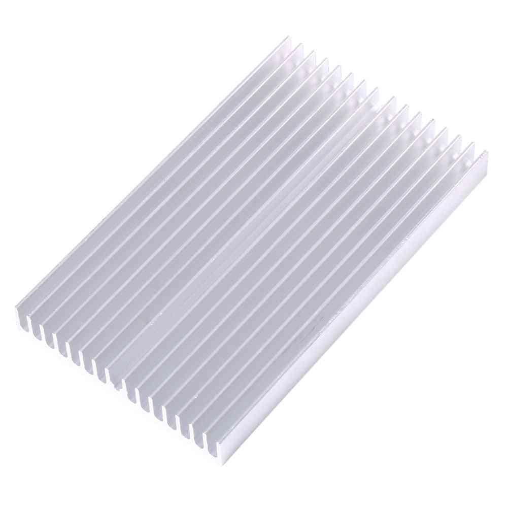 100x60x10mm Cooler Aluminum Grille Shape, Heat Sink