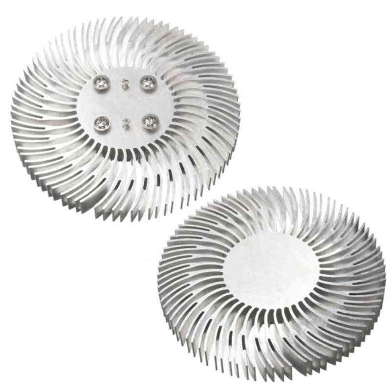 10w Round Shape, Aluminum Heatsink Radiator