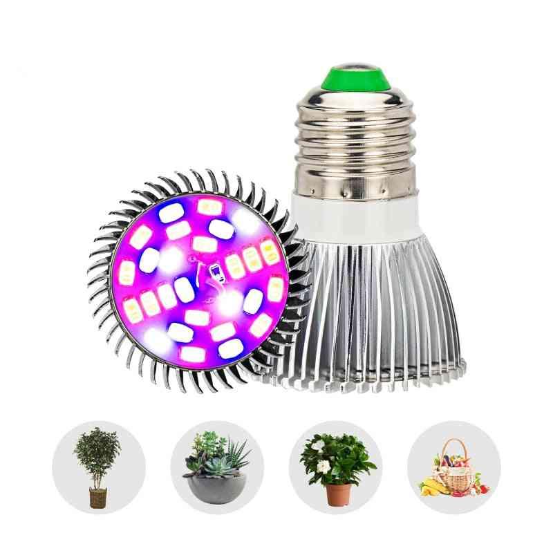 Led Growing Lamp Bulbs , Full Spectrum Plants Flower Cultivation