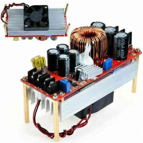 1500w 30a Dc-dc Boost Converter Step-up And Power Supply Module