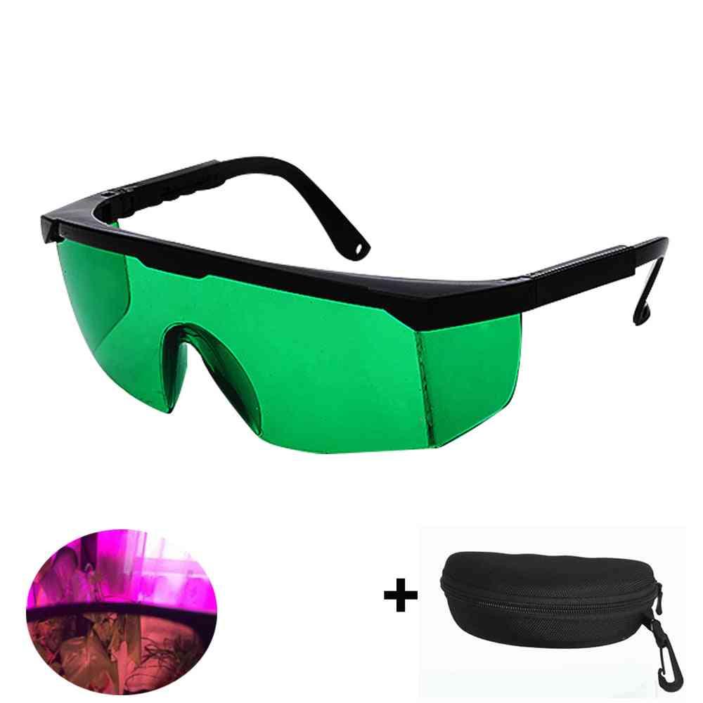Led Plant Grow Room Tent Glasses - Anti Uv Protection