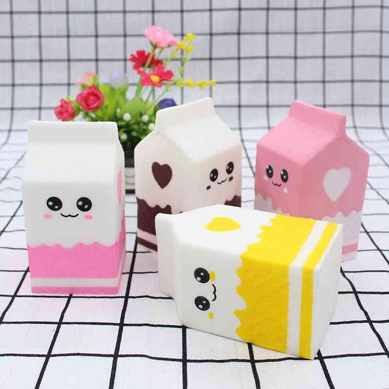 Cute Milk Carton Squishy Slow Rising- Soft Squeeze Relieve Stress Toy