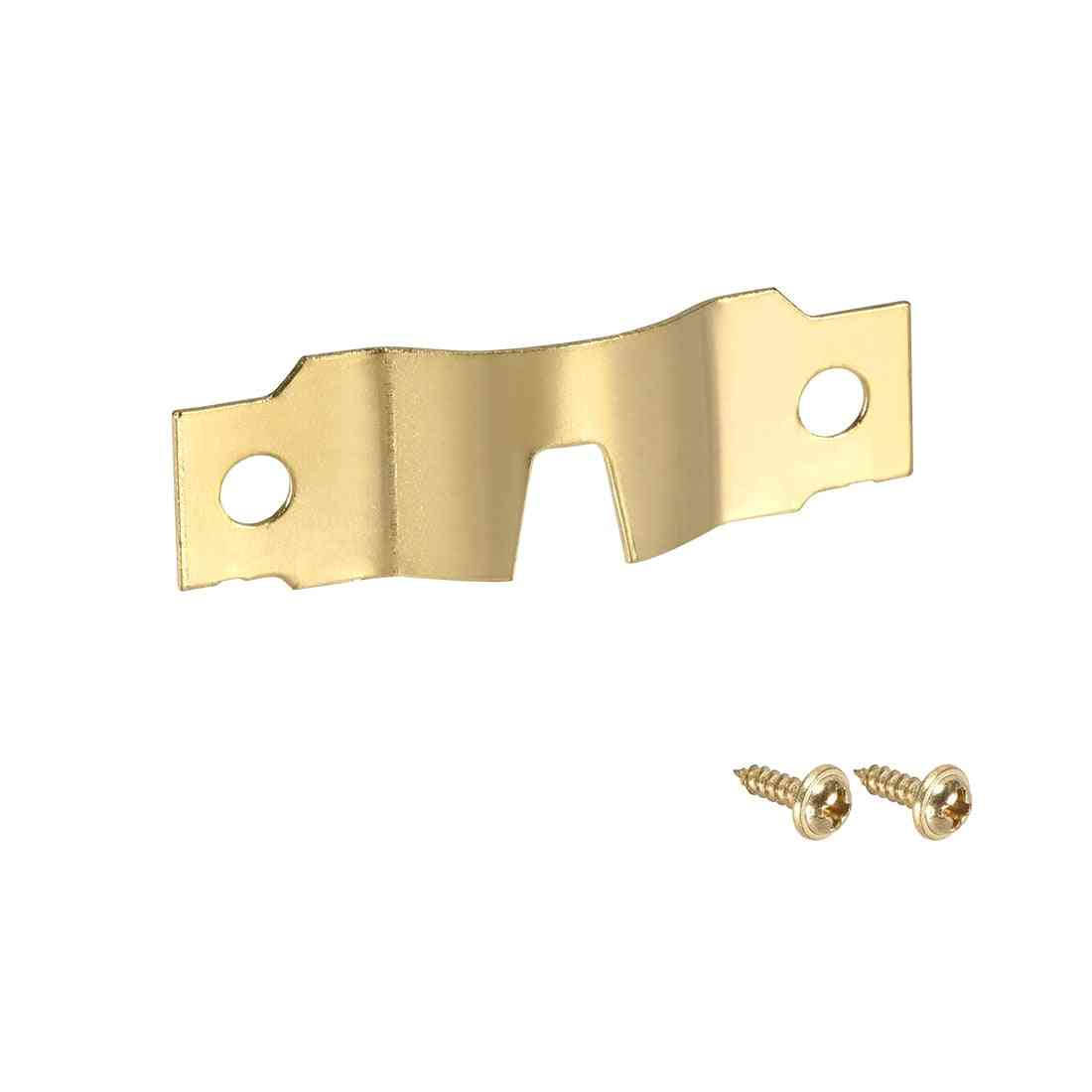 Uxcell Picture Hanger Plate - U Type Frame Hook With Screws