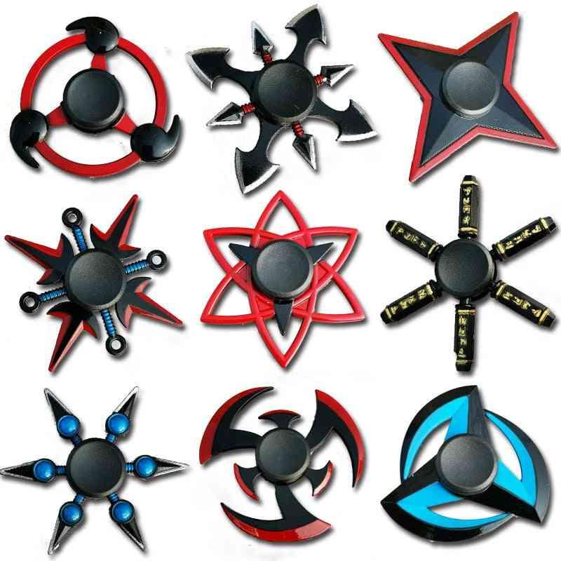 Finger Spinner-è Tri Cross Fidget Metal Toy