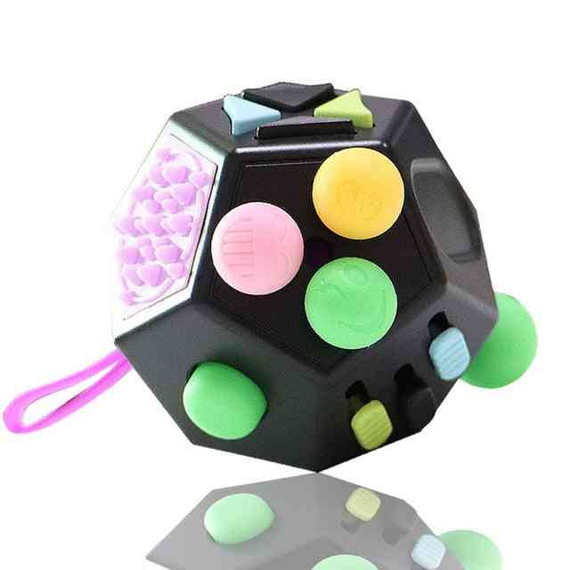 Decompression Toy - Cube Anti Stress Ring Stress Relief