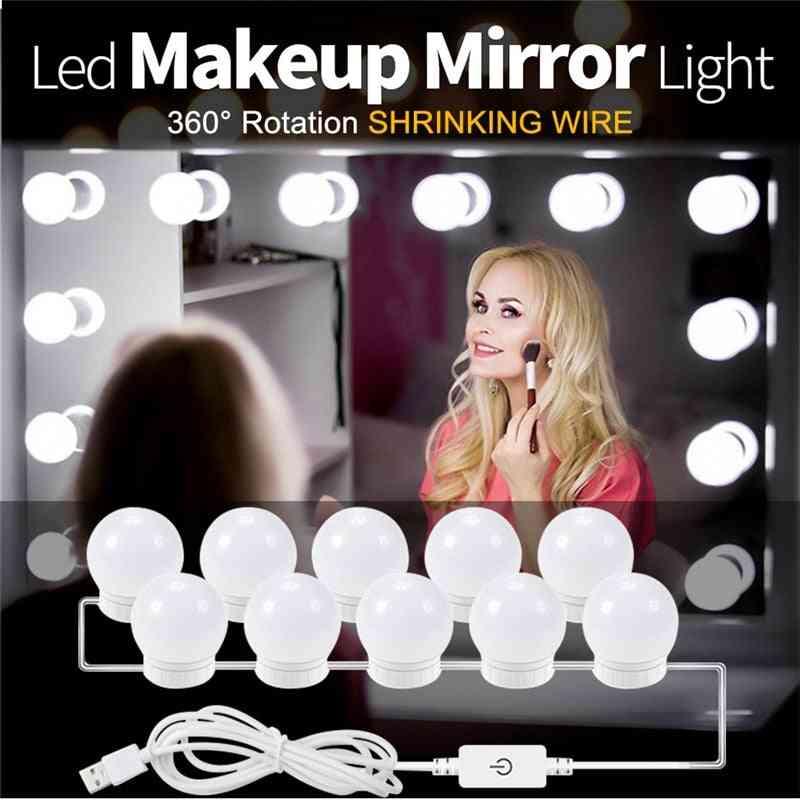 Usb-led 5v Makeup-lamp Wall-light Beauty 2/6/10/14 Bulbs-kit For Dressing Table