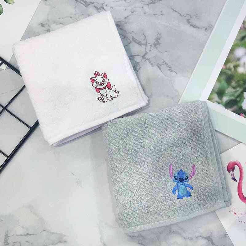 Disney Children's Towel Handkerchief, Small Square Embroidery
