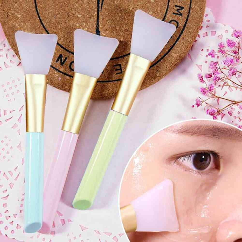 Soft Silicone, Fan Shaped-facial Mask Brushes