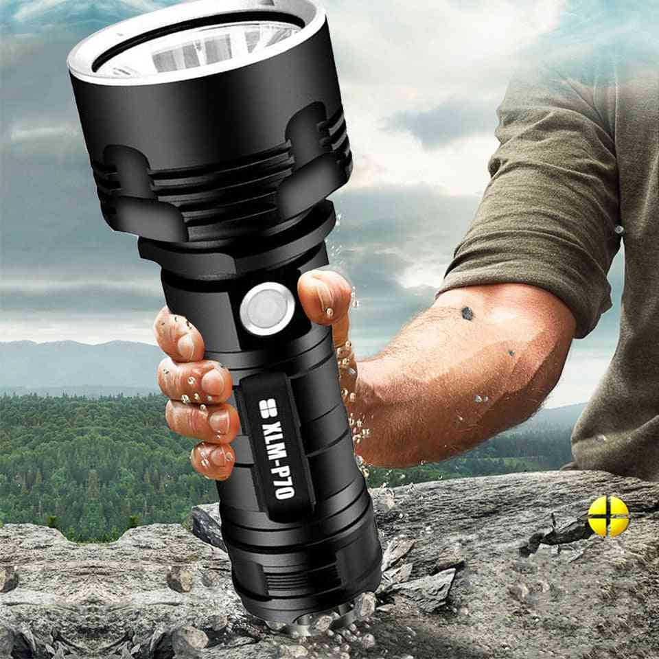 Waterproof, Super Powerful, Usb Rechargeable - Ultra Bright Lantern / Torch