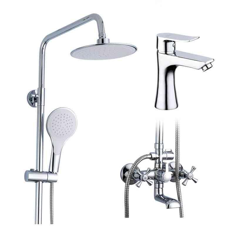 Shower Faucets Bath Tub Mixer Bathroom Set