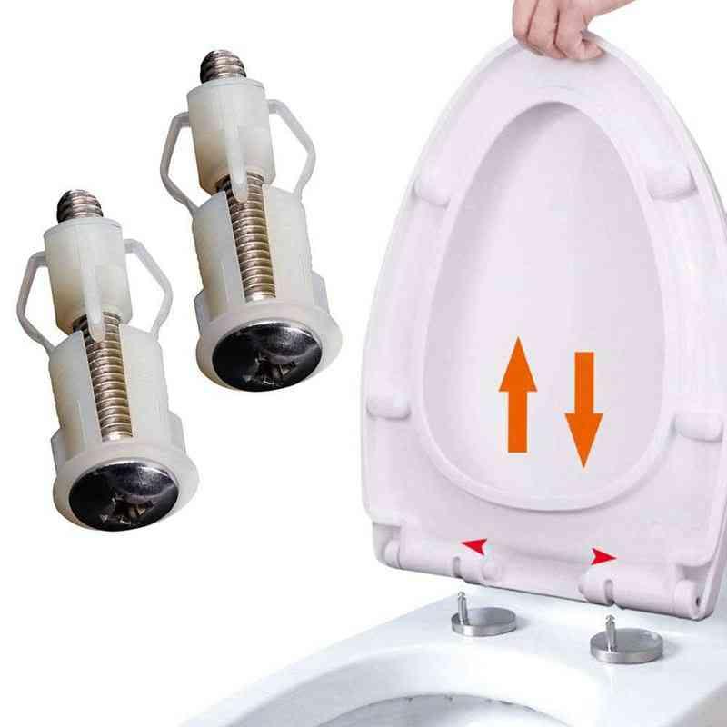 Universal Replacement Toilet Seat Hinge Screw Set