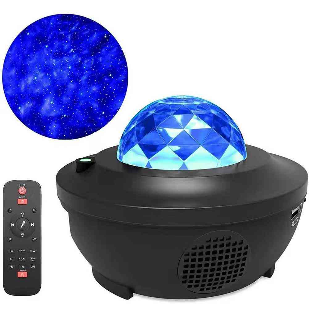 Projector Galaxy-led Star-night-light