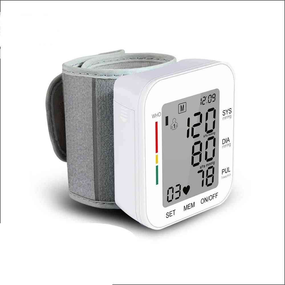 Digital Wrist Blood Pressure Monitor Device