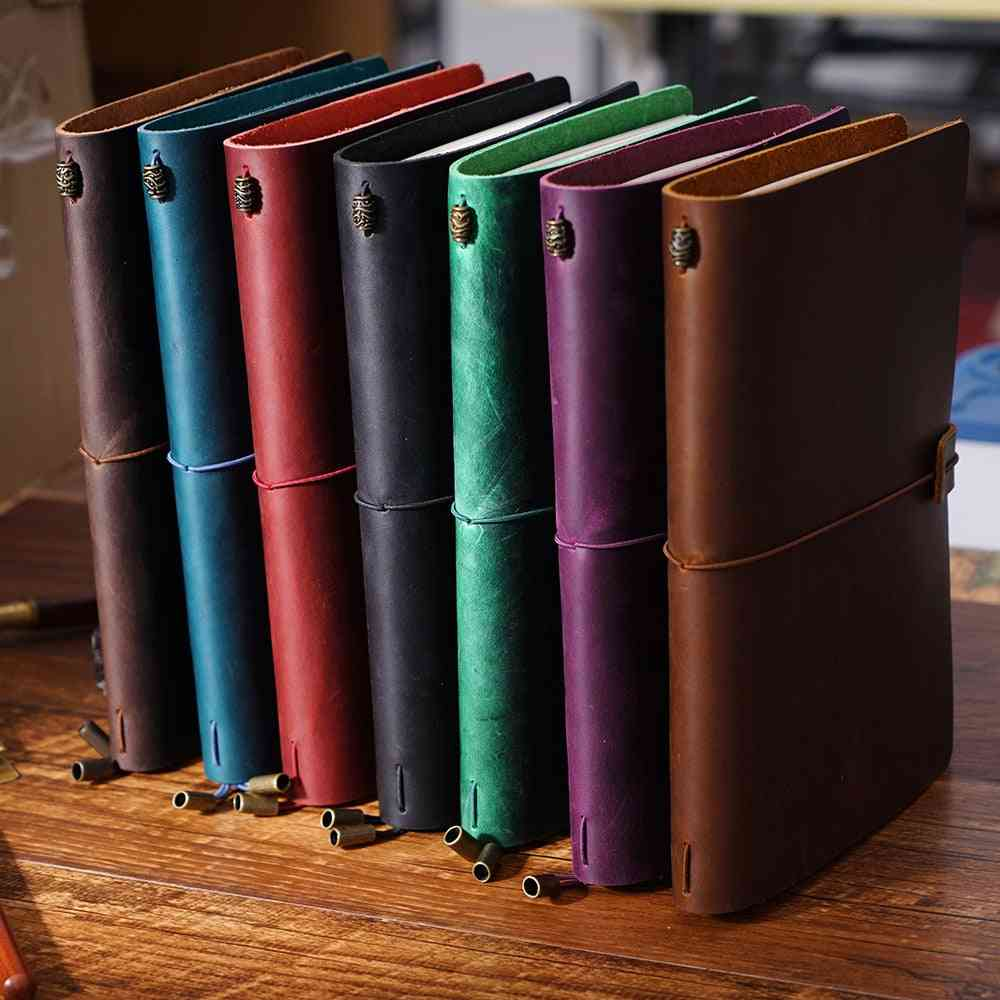 Leather Notebook Handmade Vintage Diary