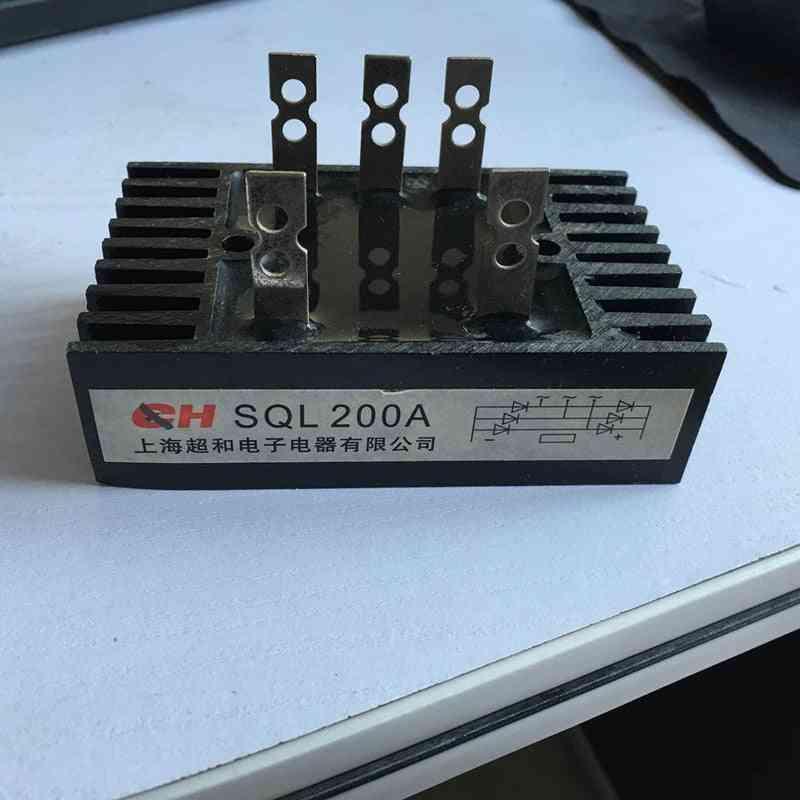 Sql200a, 1200v, 3-phase Diode Bridge Rectifier