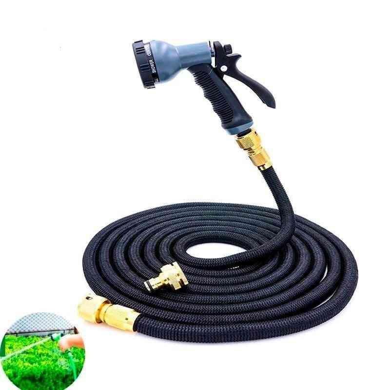Garden Hose Expandable Magic Flexible Water Plastic Pipe With Spray Gun