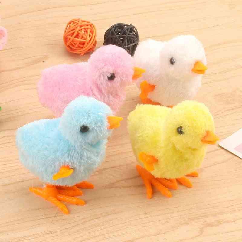 Plush Chicken, Hopping Small Bird Toy