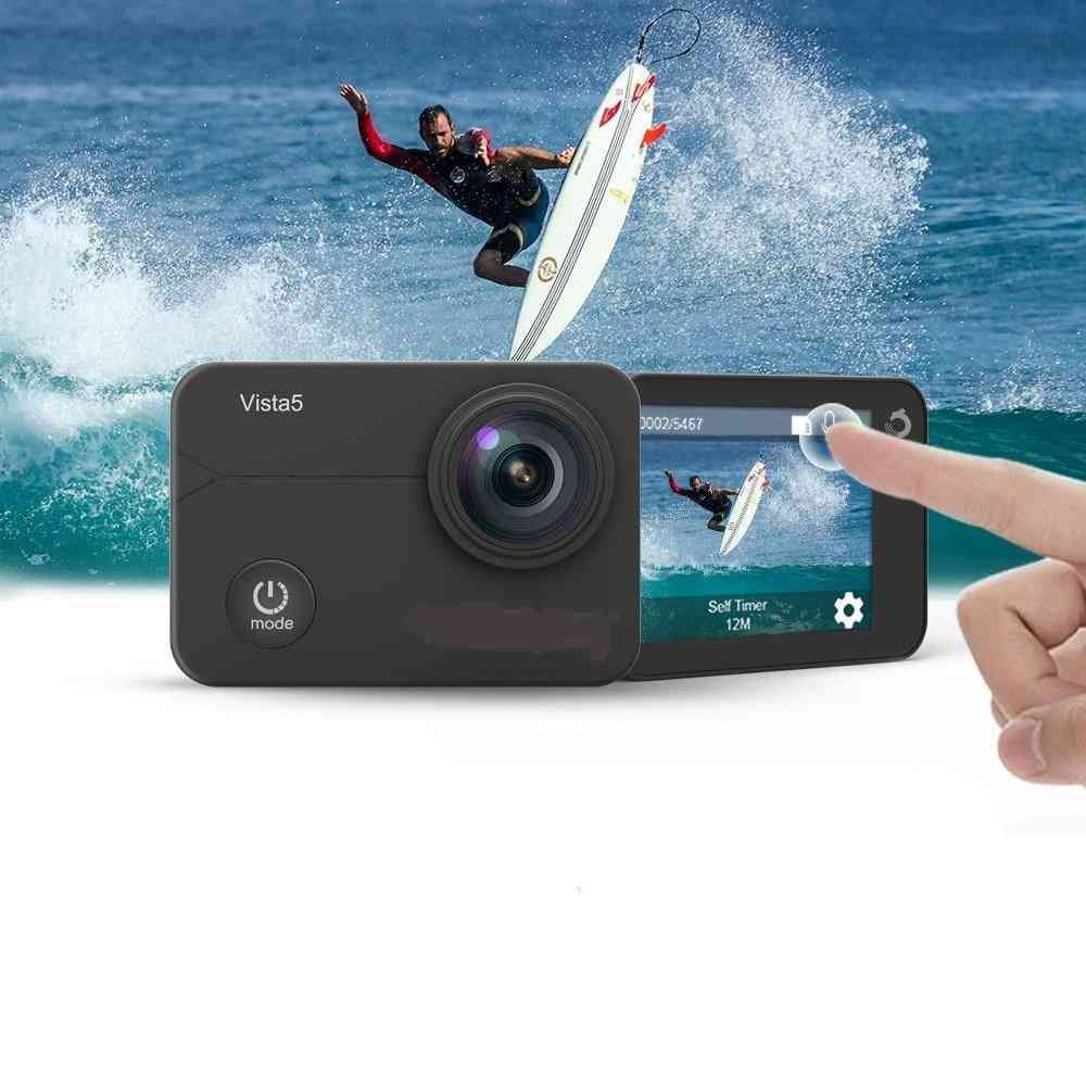 4k Action Camera  Wifi Waterproof Sport Camera With Touch Screen