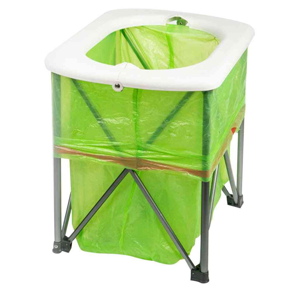 Outdoor Emergency Portable Toilet, Foldable