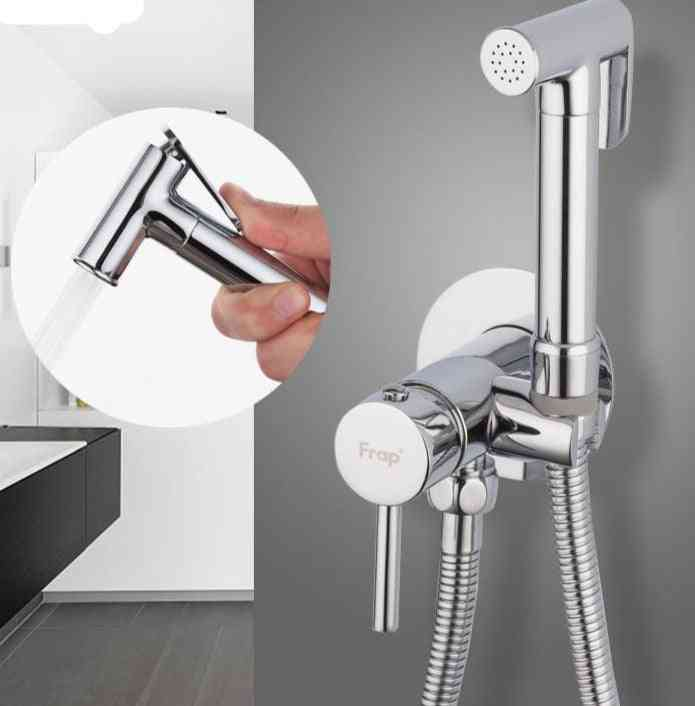 Bidet Faucets Set With Ceramic Cartridge Switch