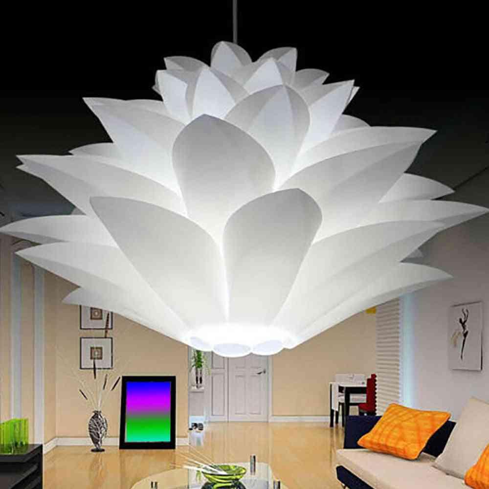 Lotus Chandelier Lampshade Diy Flower Six Layer Lamp