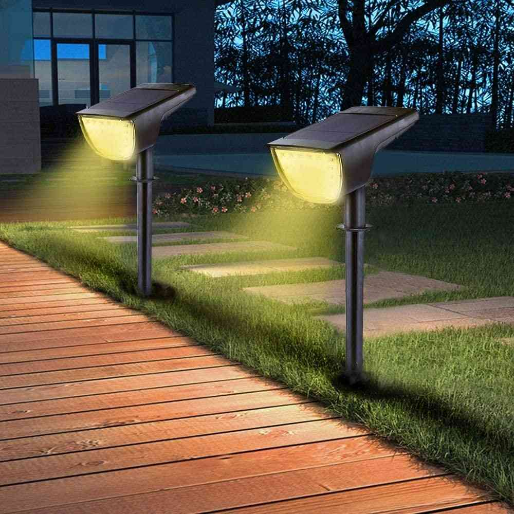 Waterproof Solar Led Lawn Light For Outdoor Garden Yard Path