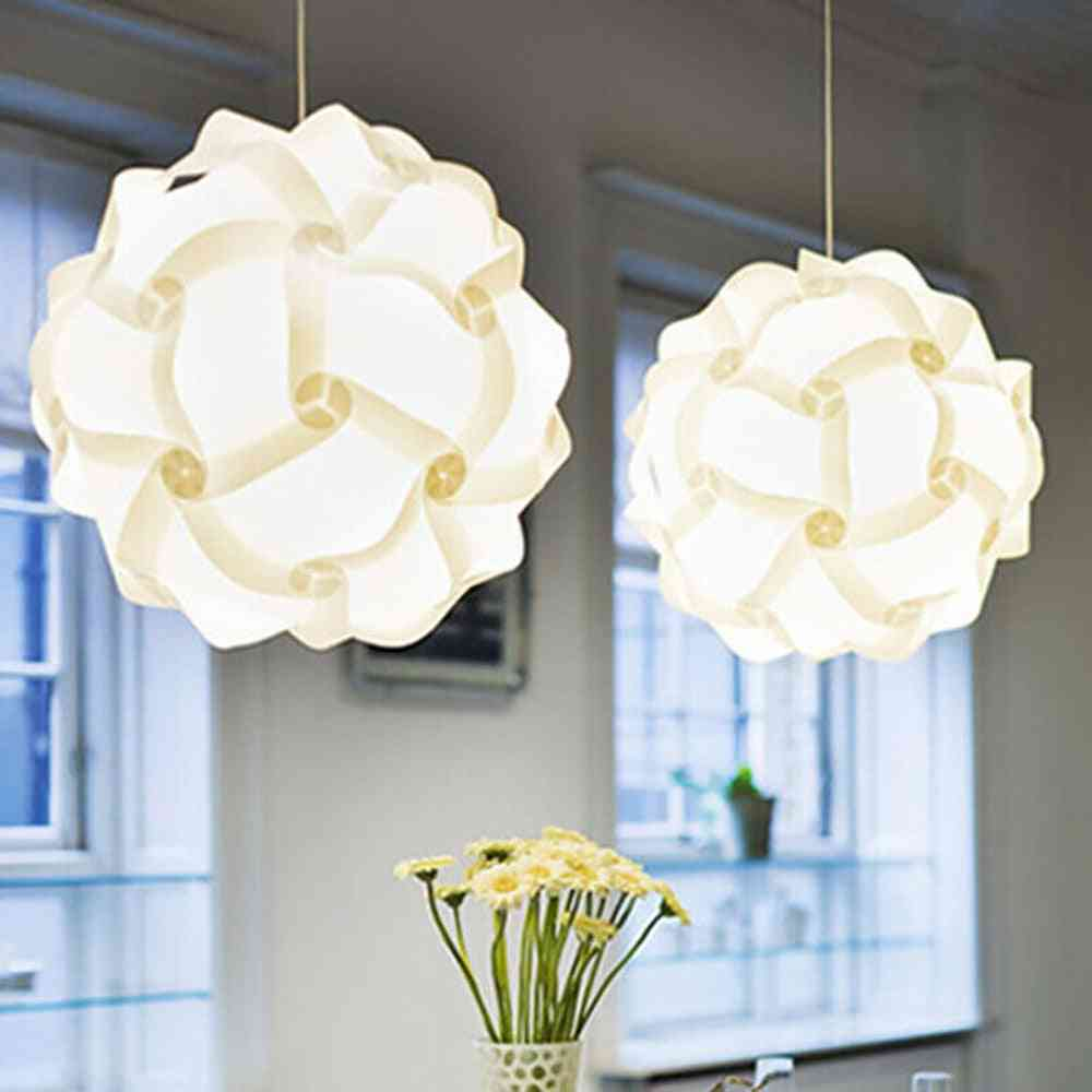 Puzzle Lampshade -creative Jigsaw, Modern Ceiling Chandelier Light Cover